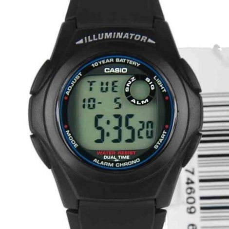 Casio Youth Digital Watch F-200W-1A F200W-1