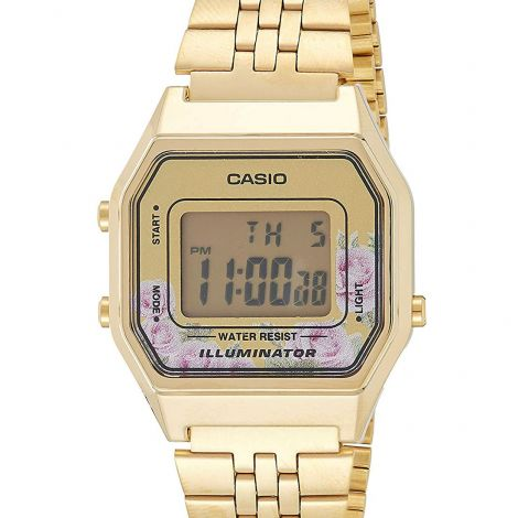Casio Popular Retro Digital Watch LA680WGA-9 LA680WGA-9DF