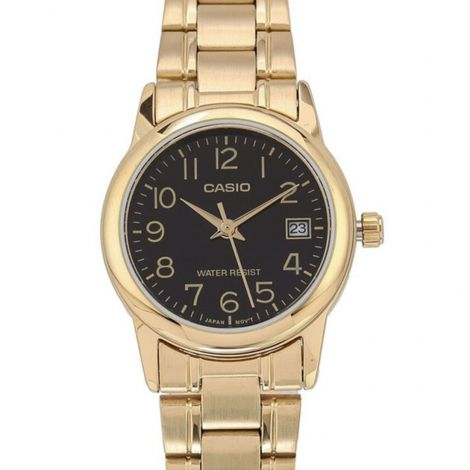 Casio LTP-V002G-1B LTPV002G-1B Female Gold Watch