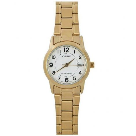 Casio LTP-V002G-7B LTPV002G-7B Female Gold Watch