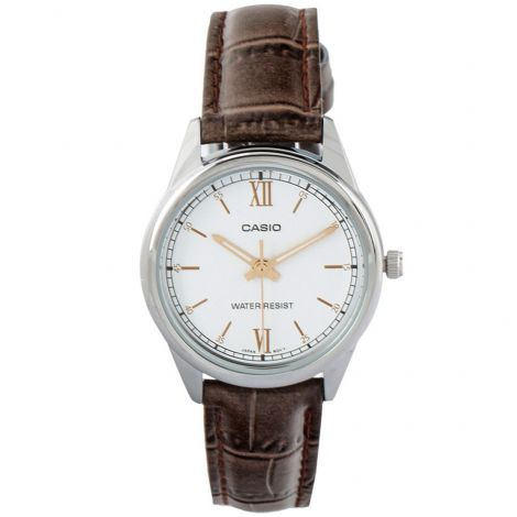 Casio Womens Leather Watch LTPV005L-7B3 LTPV005L-7B3