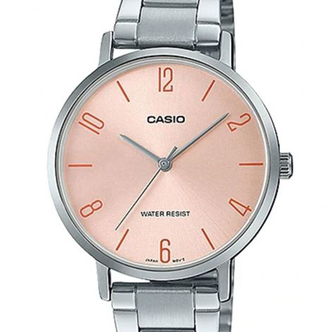 Casio LTP-VT01D-4B2 LTPVT01D-4B2 LTP-VT01D-4B2UDF Ladies Stainless Steel Watch