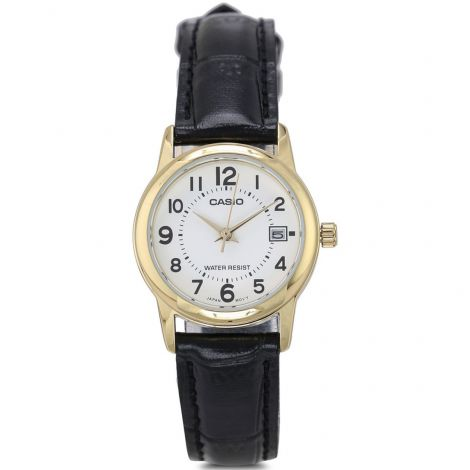 Casio LTP-V002GL-7B LTPV002GL-7B Female Leather Watch