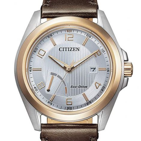 Citizen AW7056-11A Male Leather Solar Watch