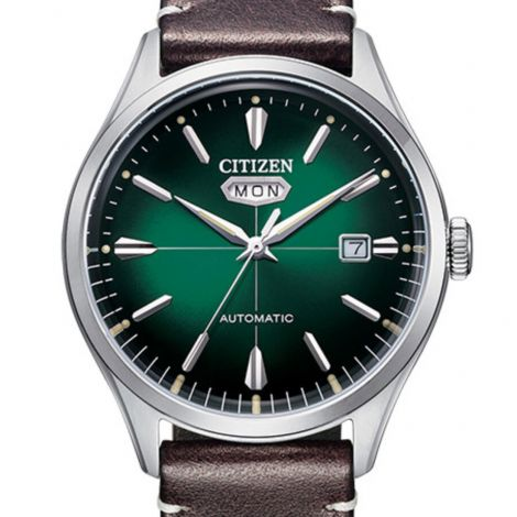 Citizen NH8390-03X Green Dial Automatic Mens Watch