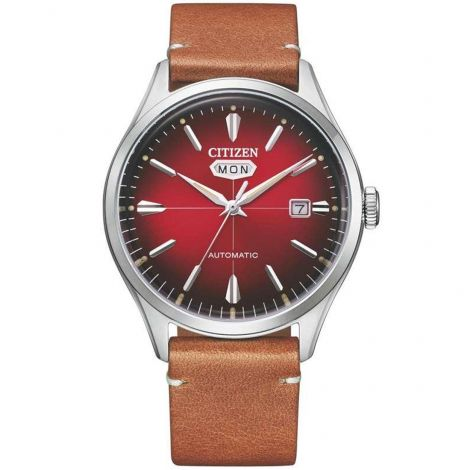 Citizen NH8390-11X Red Dial Automatic Mens Watch