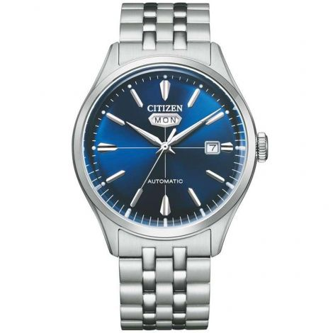 Citizen NH8390-71L Stainless Steel Blue Dial Automatic Watch