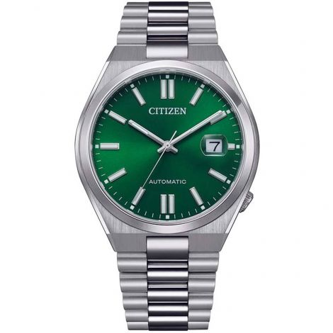 Citizen Automatic NJ0150-81X Green Dial Male Analog Casual Watch