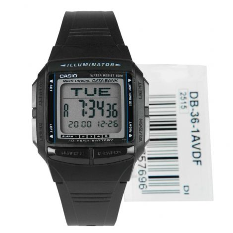 DB-36-1 Casio Data Bank Telememo Watch