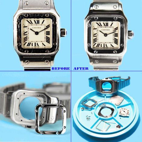 Watch Polishing (Express touch up and polish for Cartier watches)