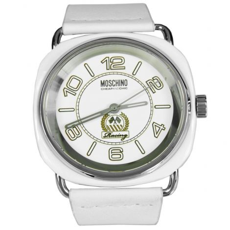 Moschino Racing Vibe Quartz Analog White Sports Watch MW0243