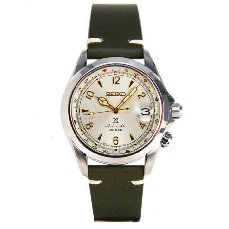 Seiko Prospex SBDC093 Automatic Alpinist Leather Diving Watch