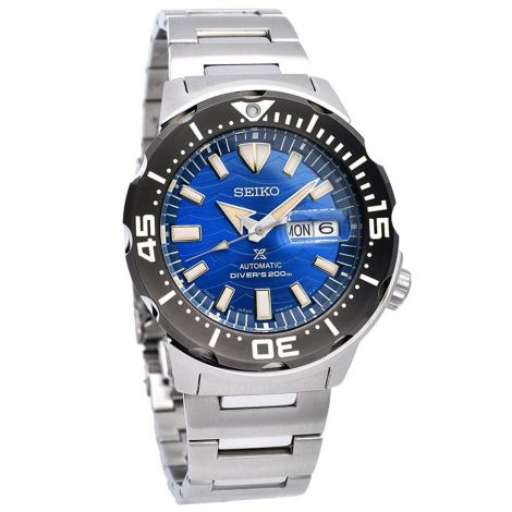 Seiko Prospex SBDY045 Automatic Monster Diving Stainless Watch