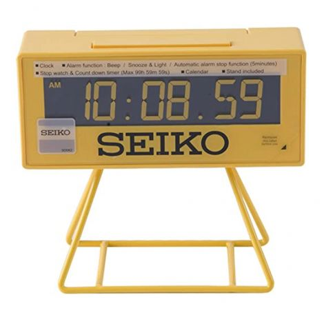 Seiko Sports Timer Stopwatch LCD Clock QHL062Y (Singapore Only)
