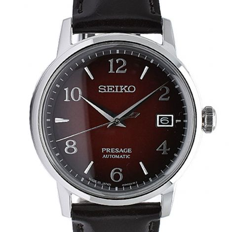 Seiko Presage JDM Cocktail Time Leather Watch SARY163