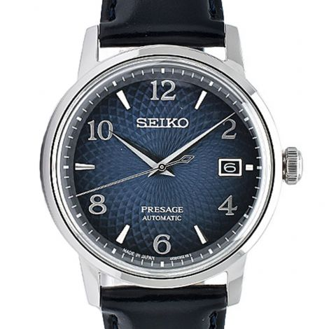Seiko Presage JDM Cocktail Time Leather Watch SARY165