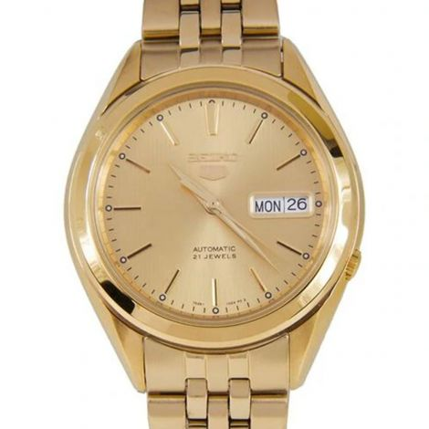 Seiko SNKL28K1 SNKL28 SNKL28K Automatic Gold Watch
