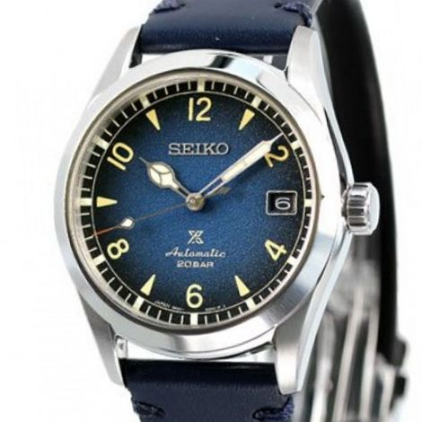 Seiko Baby Alpinist SPB157J1 SPB157 SPB157J Blue Watch