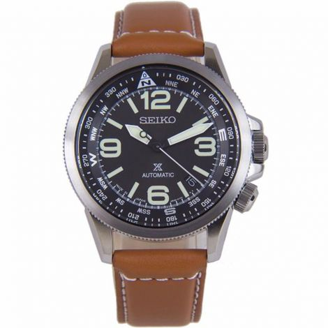 Seiko SRPA75J1 SRPA75 SRPA75J Automatic Leather Watch