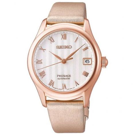 Seiko SRRY048 Ladies Zen Garden Pink Gold JDM Watch