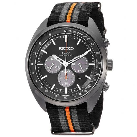 Seiko Recraft SSC669 Solar Chronograph Nylon Watch