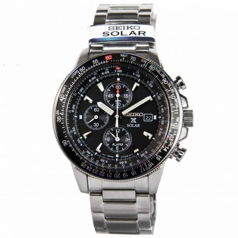 Seiko Flightmaster Chronograph Watch SSC009 SSC009P SSC009P1