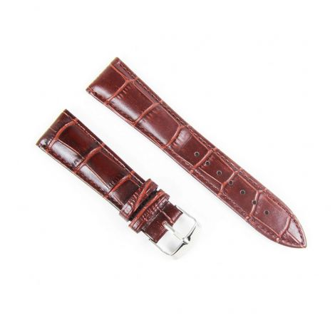 22mm Brown Leather Strap