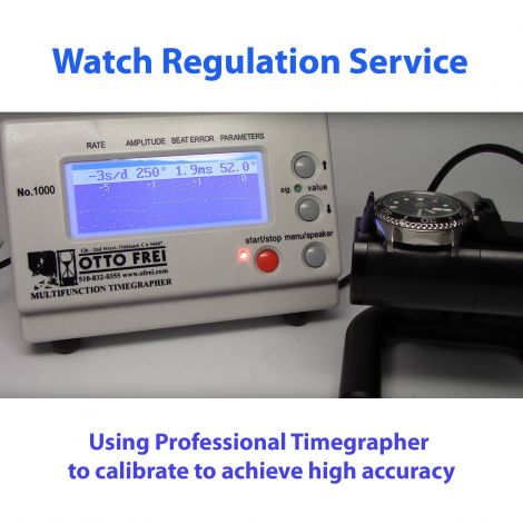 Watch Regulation service for mechanical watches